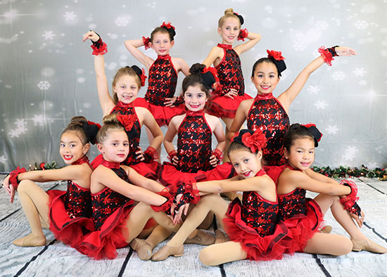 ballet, tap and jazz dance classes in California